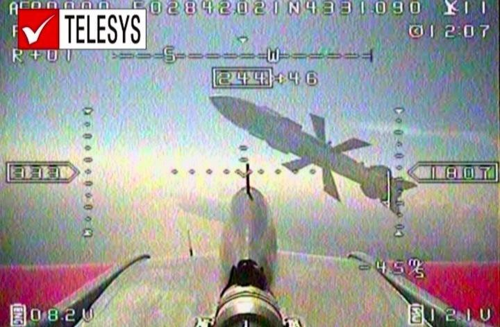 Unmanned drone photographed moments just before UAV camera was destroyed 1.jpg